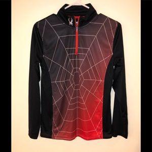 Spyder Youth Boys Long Sleeve Shirt Size L 14